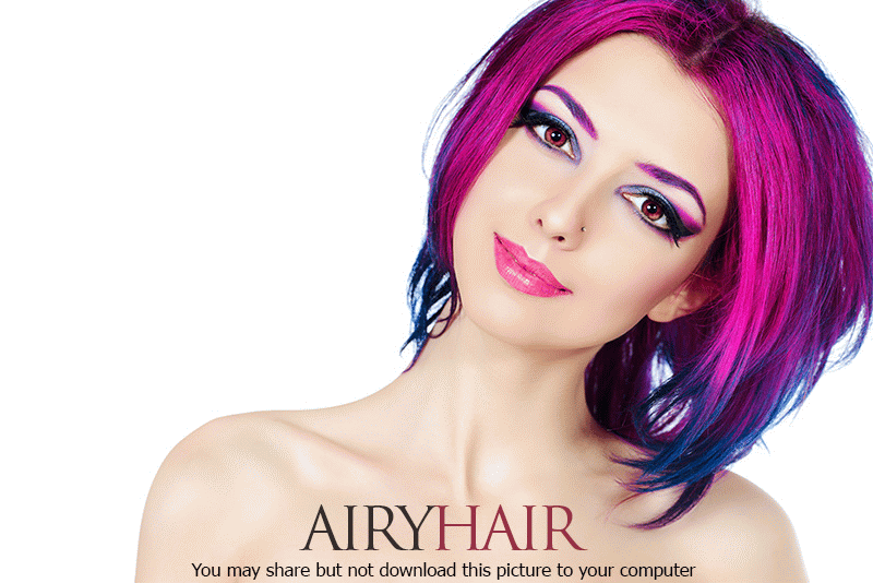 Buy Pink Hair Extensions For The Breast Cancer Awareness!