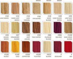 Hair Extension Color Wheel