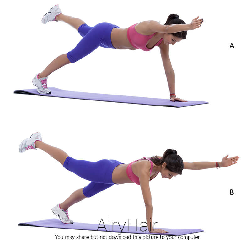 Lower Back Exercise: Side Raise