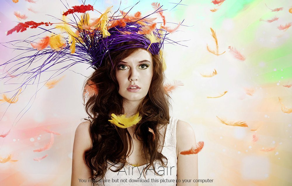 Easter Hairstyle with Birdnest