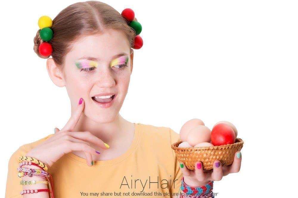 European Easter Hairstyle