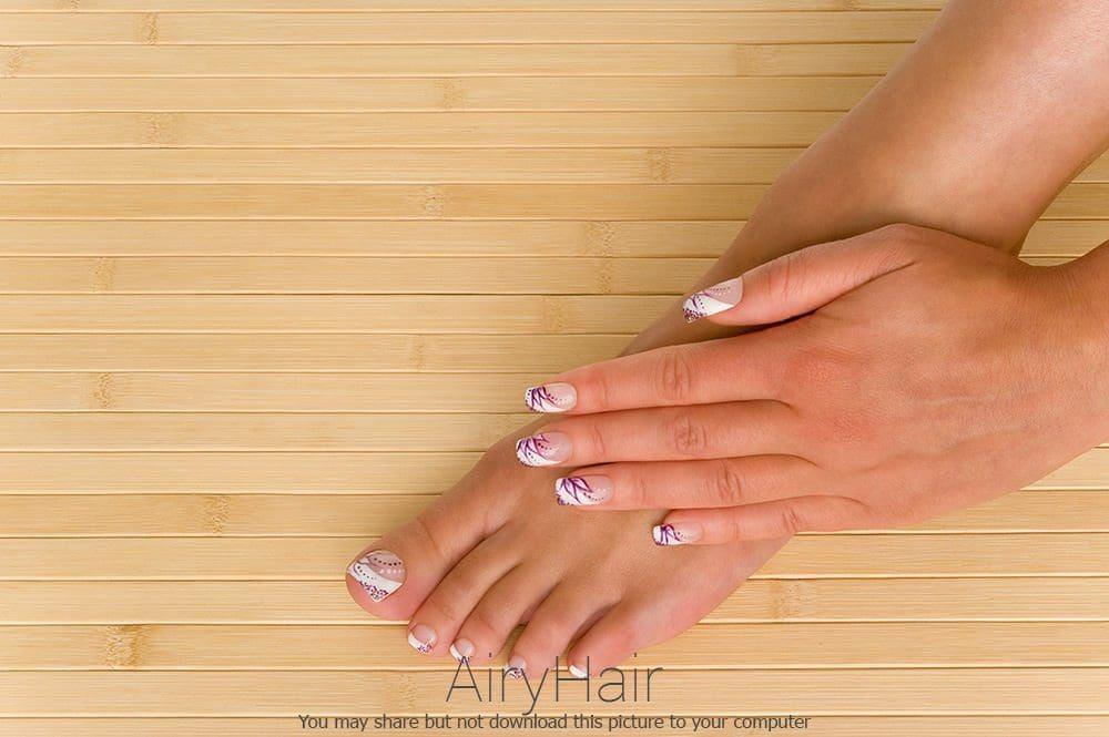Pedicure & Manicure Nail Design Match