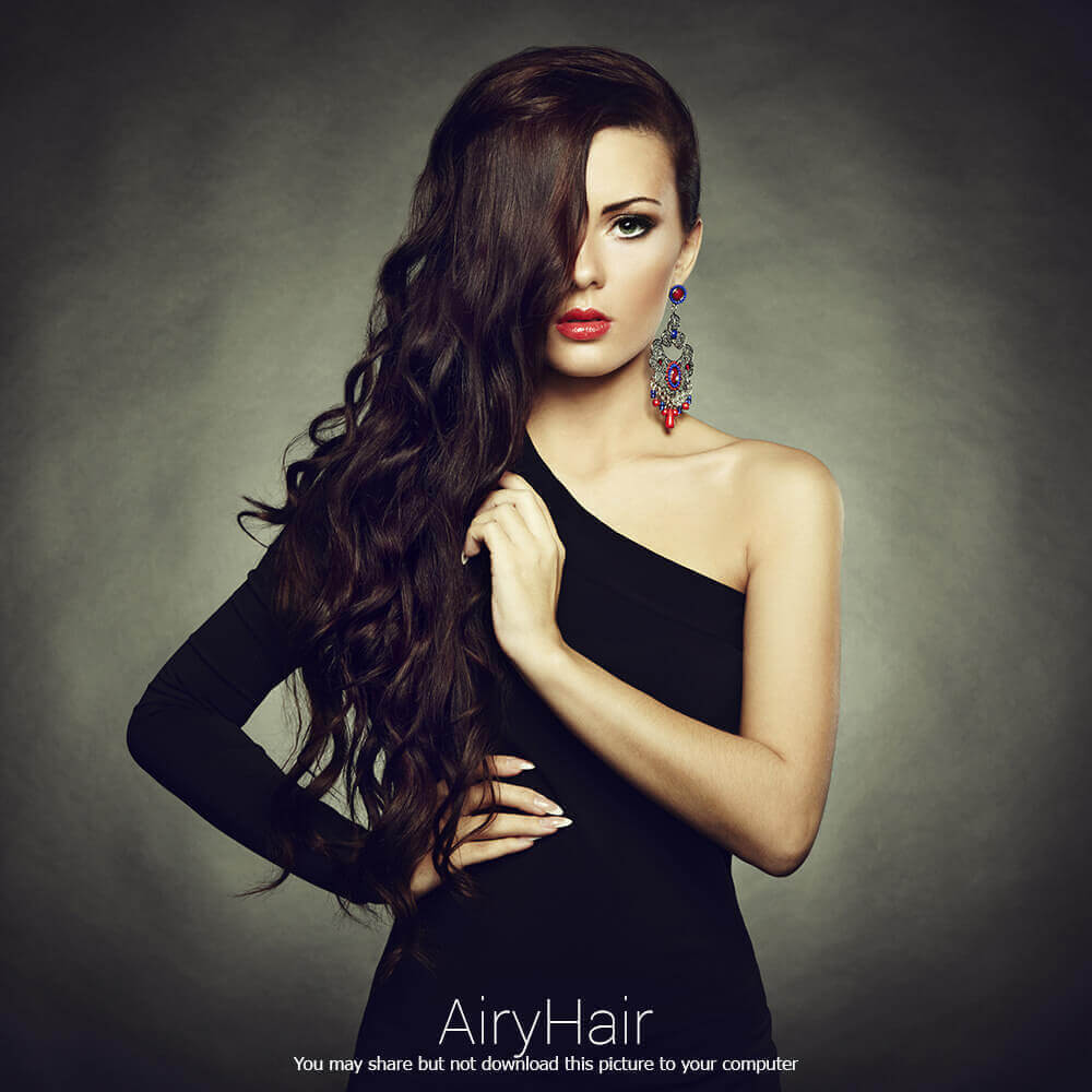 Confident hairstyle for women