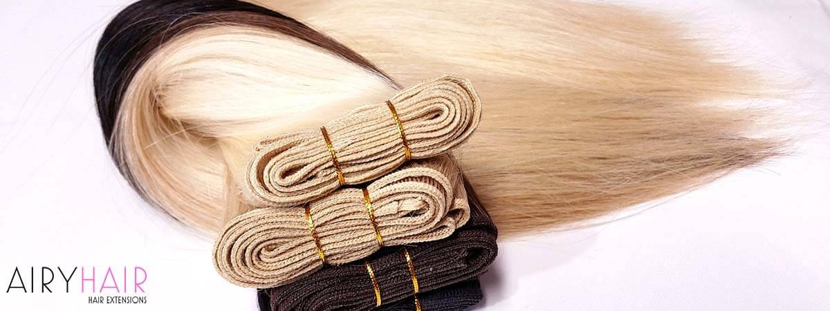 Sewn-in and Weft Hair Extensions