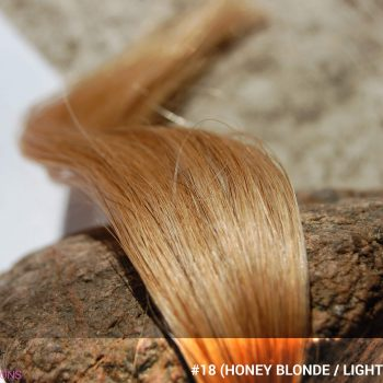 #18 (Honey Blonde / Light Ash Brown) Hair Color