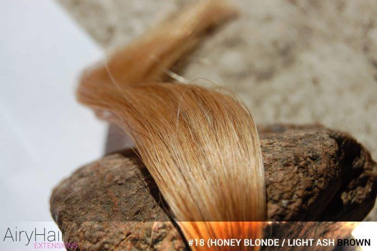 Complete hair extensions color chart color palette guide 18 honey blonde light ash brown hair color pmusecretfo Gallery