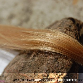 #27 (Strawberry Blonde / Light Butterscotch Blonde) Hair Color