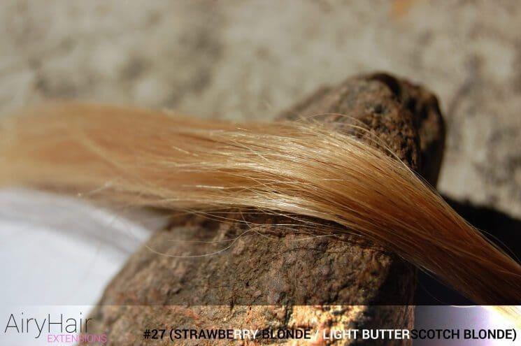 #27 (Strawberry Blonde / Light Butterscotch Blonde) Hair Color