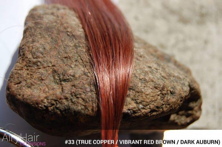 #33 (True Copper / Vibrant Red Brown / Dark Auburn) Hair Color