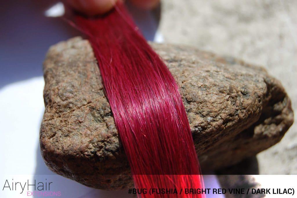 #Bug (Fushia / Bright Red Vine / Dark Lilac) Hair Color