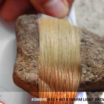 #Ombré #12 / #613 (Warm Light Brown + Blonde)