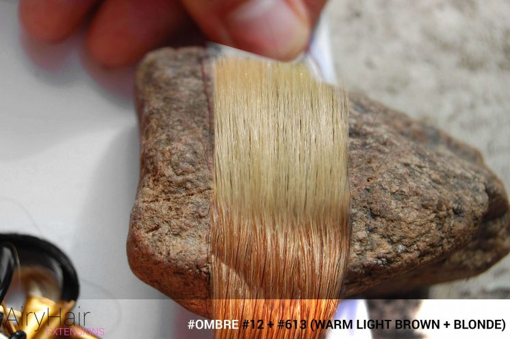 #Ombré #12 / #613 (Warm Light Brown + Blonde)