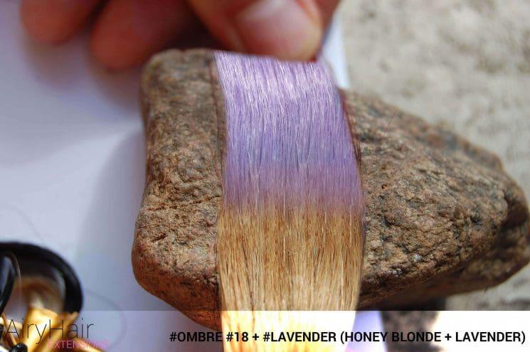 #Ombré #18 / #Lavender (Honey Blonde + Lavender)