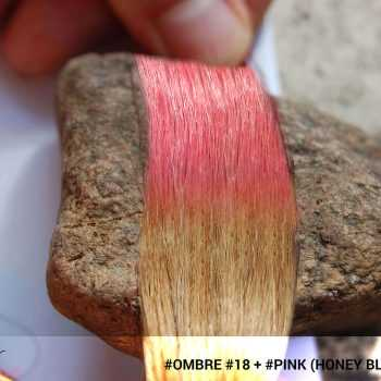#Ombré #18 / #Pink (Honey Blonde + Pink)