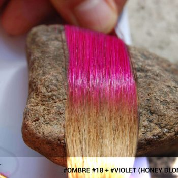 #Ombré #18 / #Violet (Honey Blonde + Violet)
