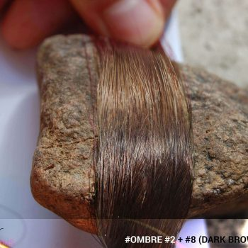 #Ombré #2 / #8 (Dark Brown + Brown)