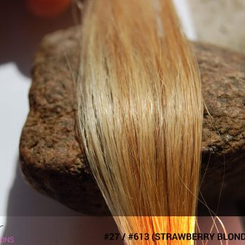 #27 / #613 (Strawberry Blonde + Blonde) Ombré Hair Colors