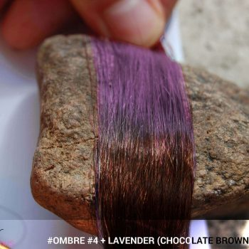 #Ombré #4 / #Lavender (Chocolate Brown + Lavender)