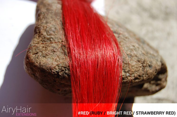 #Red (Ruby / Bright Red / Strawberry Red) Hair Color