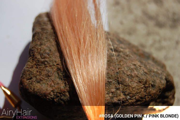 #Rosa (Golden Pink / Pink Blonde) Hair Color