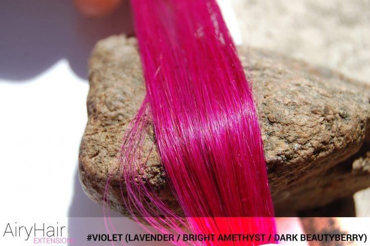 #Violet (Lavender / Bright Amethyst / Dark Beautyberry) Hair Color