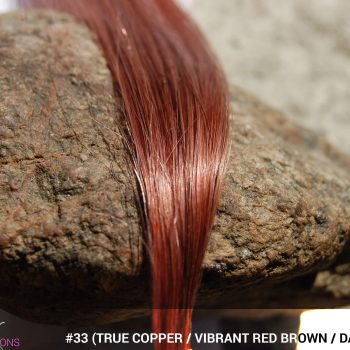 #33 (True Copper / Vibrant Red Brown / Dark Auburn) Hair Color