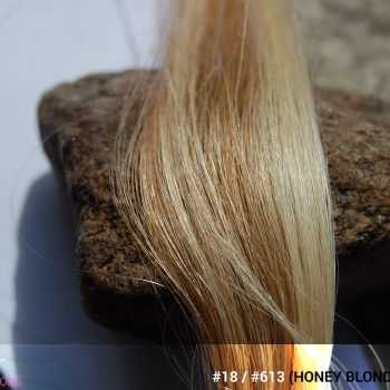 #18 / #613 (Honey Blonde + Blonde) Ombré Hair Colors