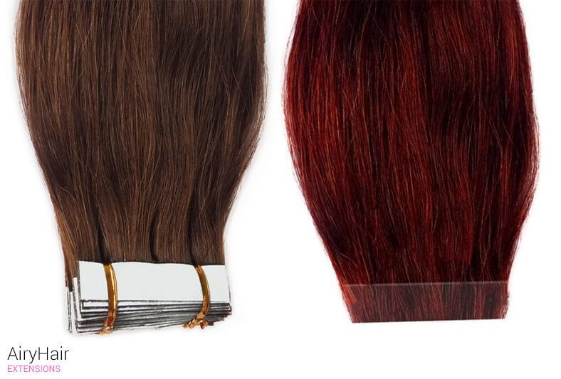 Introducing Invisible Tape In Hair Extensions