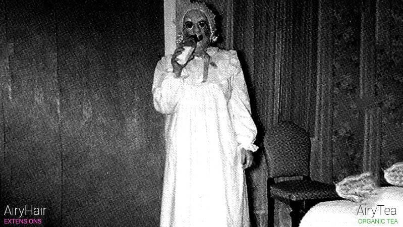 Big creepy baby costume