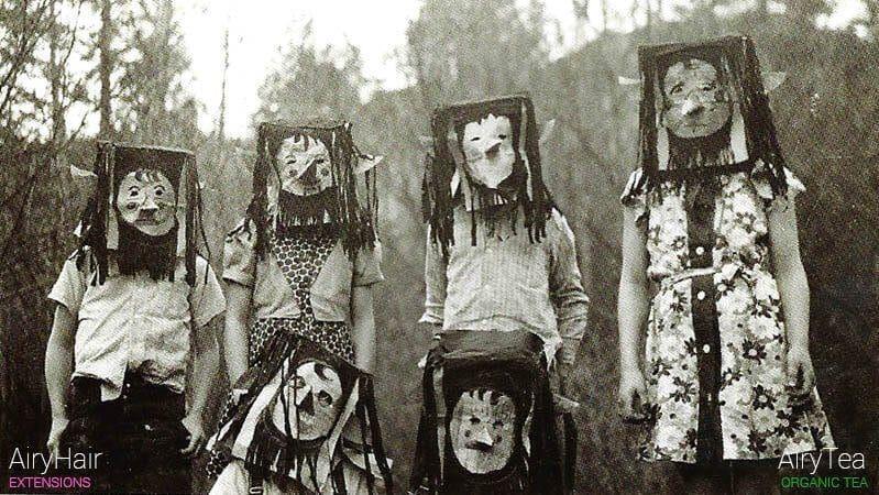 Creepy vintage people