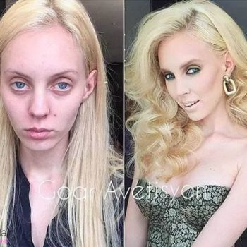 Mind Blowing MakeUp Before After Transformations - Before and after makeup photos