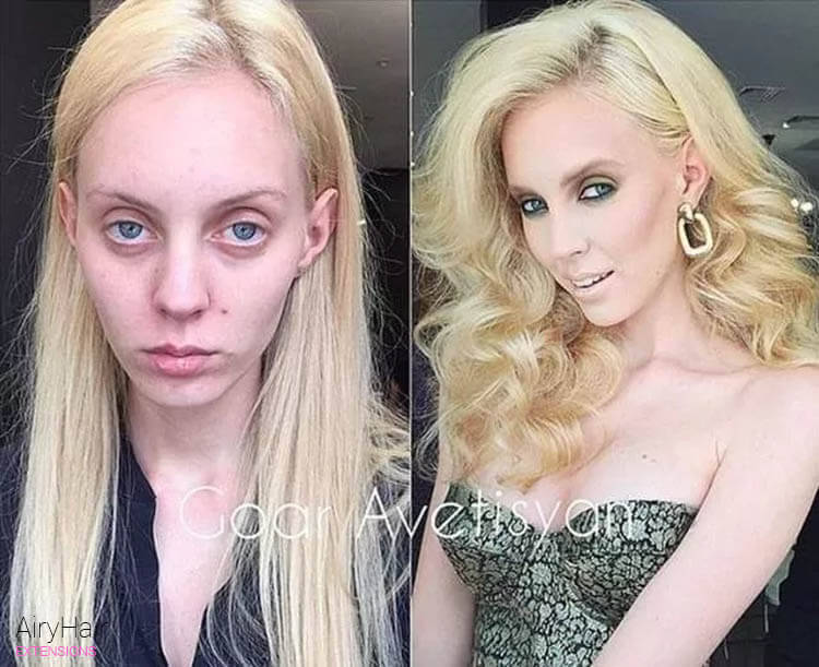 Top 10 Mind Blowing Make-Up Before & After Transformations