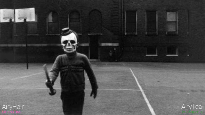 Halloween skeleton killer costume