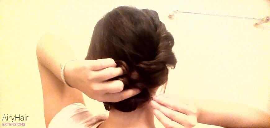 Step by Step: How to Do a Romantic Chignon Hairstyle