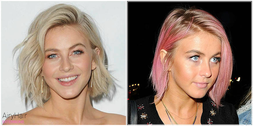 Julianne Hough Outrageous Hair Dye