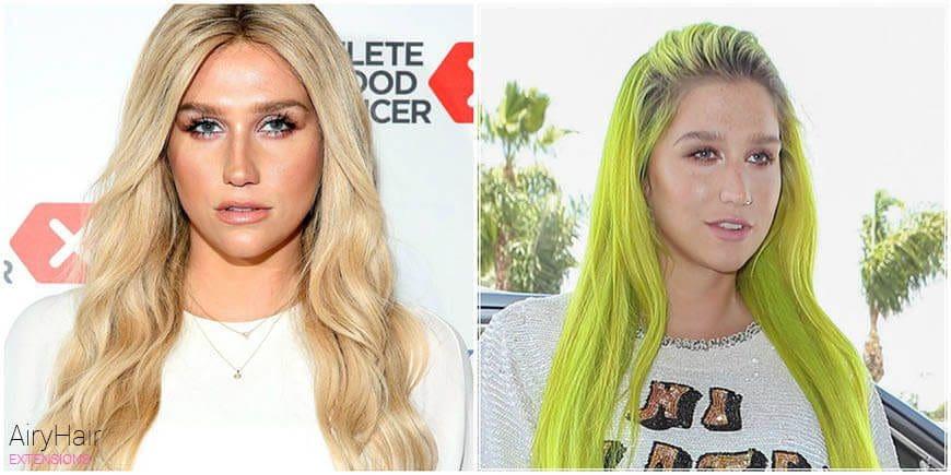 Kesha Outrageous Hair Dye