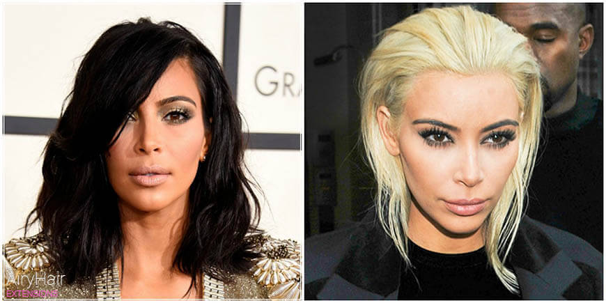 Top 10 Outrageous Celebrity Hair Dyes Using Extensions