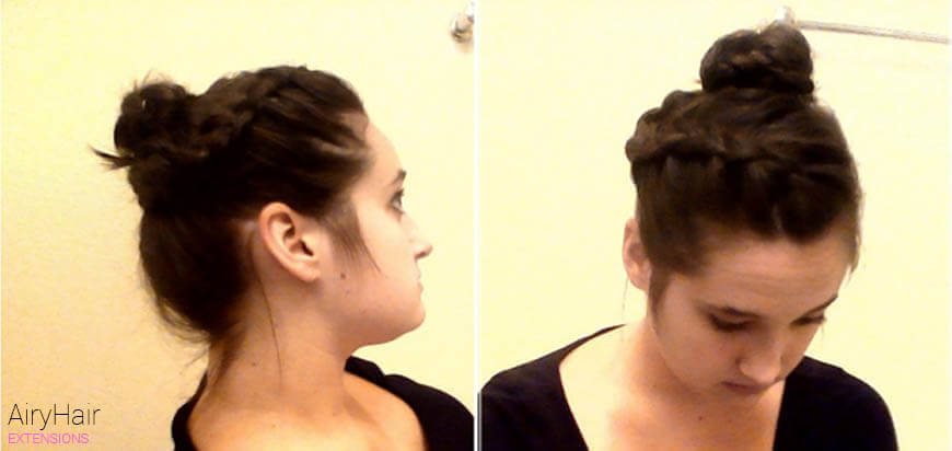 Step by Step: How to Do a Braided Bun Hairstyle