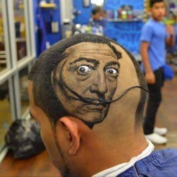 Salvador Dalí Tribute Haircut