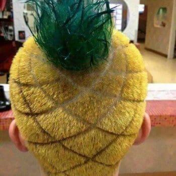 Spongebob Pineapple Men Haircut
