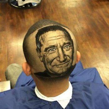 Robin Williams Memory Haircut