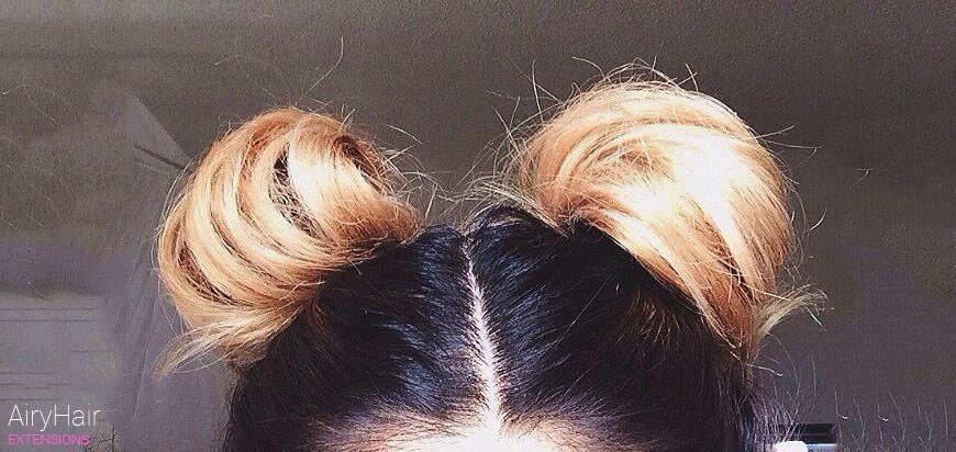 Space Buns Hairstyle