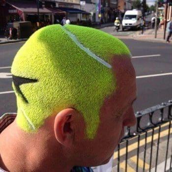 Tennis Ball Men Haircut