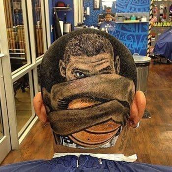 Tim Duncan Crazy Haircut