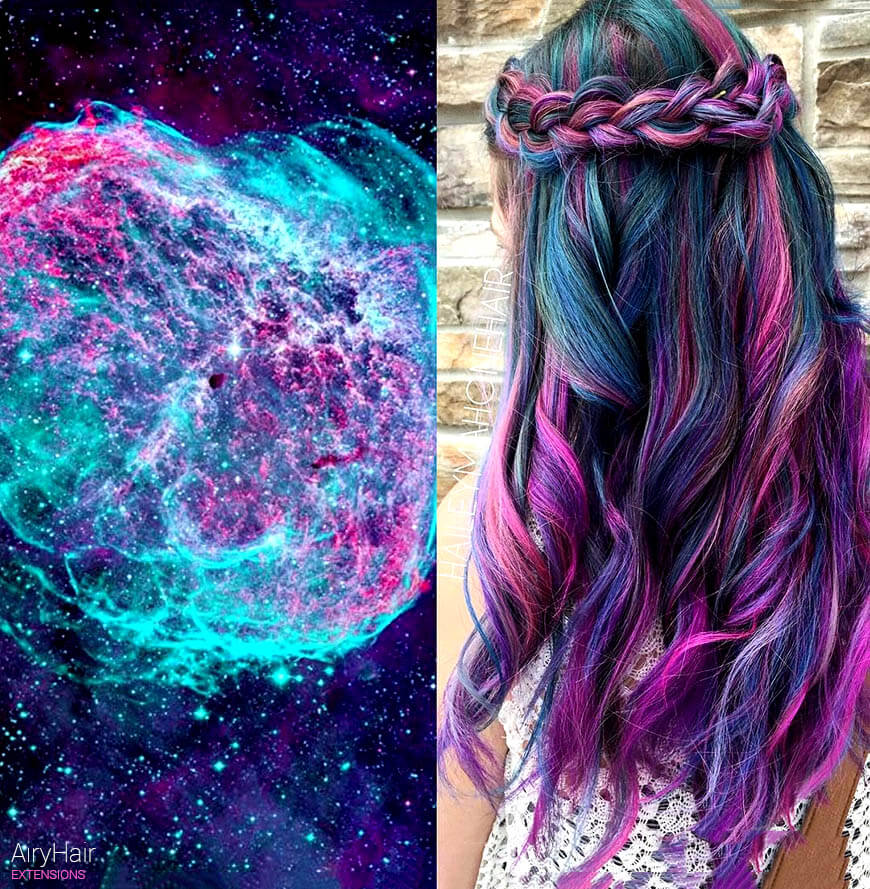 2016 galaxy hair trends