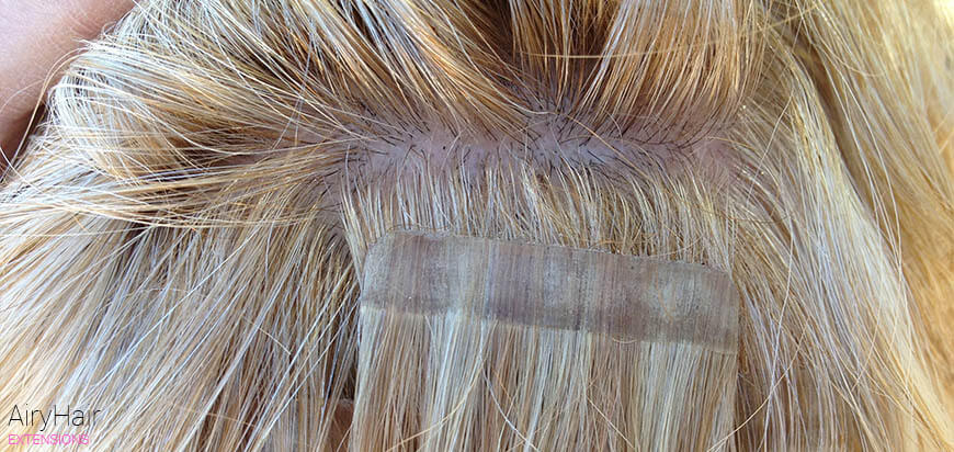 What Are Invisible Tape-in Hair Extensions?