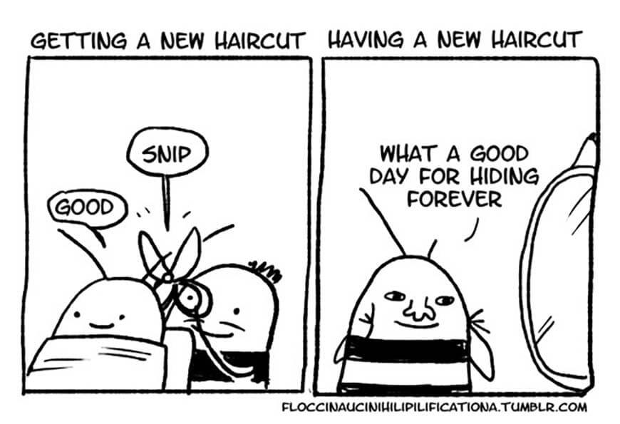 Bad Haircut Day
