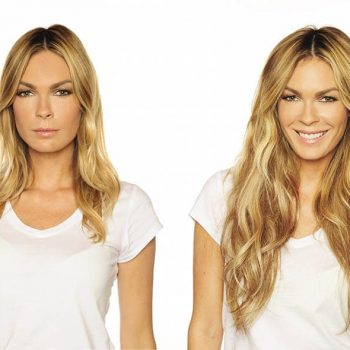 Hair extensions before after images medium and short hair hair extensions before and after blond pmusecretfo Gallery