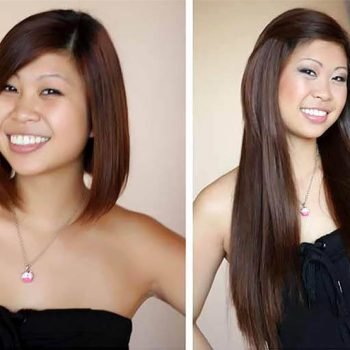 Short hair tape extensions before and after tape on and off short hair tape extensions before and after 104 pmusecretfo Image collections