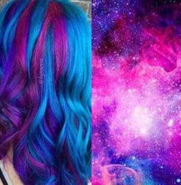 Top 20+: Best of Galaxy Hairstyles and Space Hair (2021)